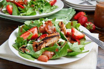 balsamic chicken strawberry