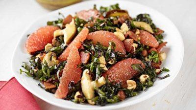 hazelnut grapefruit salad