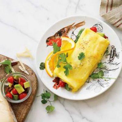 shake shake omelet
